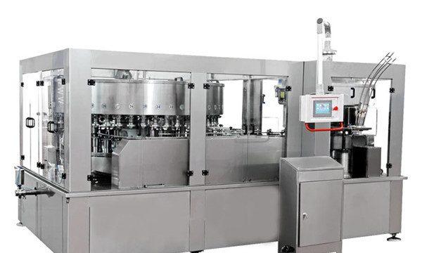 Aluminium blik vulmachine voor energiedrank Frisdrank
