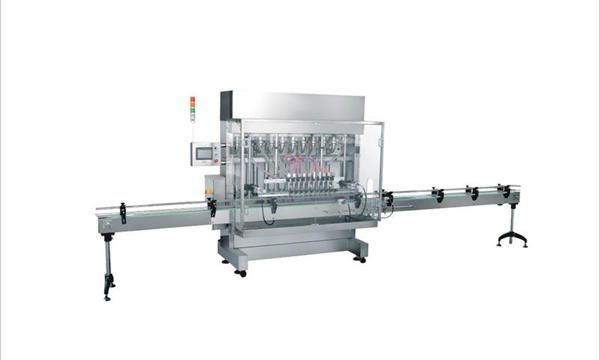 Automatische 4 koppen wasmiddel vulmachine