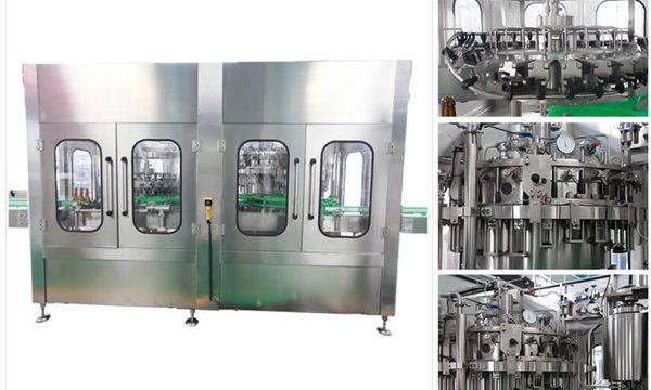 Automatische bierwodka wijnglas fles vulmachine