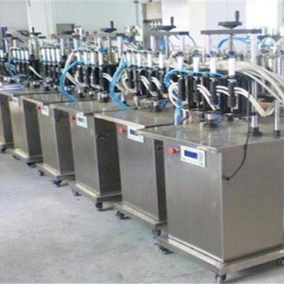 Automatische flessenvulmachine voor parfum