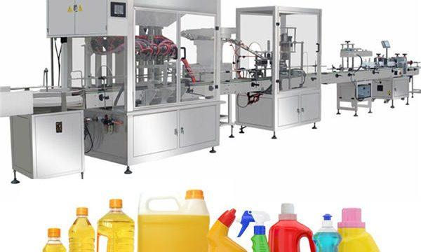 Zwaartekracht bleekmiddel vulmachine, bleekmiddel vullen productielijn