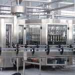 Automatische 250 ml Shampoo glazen fles vulmachine Capper apparatuur