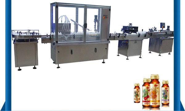 China leverancier automatische honing fles vloeistof vulmachine