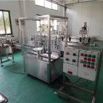 Automatische vloeistofvulmachine met hoge viscositeit