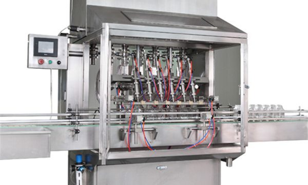 Sina Ekato Eigen complete motorolievulproductielijn, olievulmachine