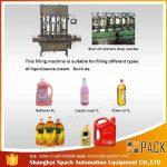 Automatische 2, 4, 6, 8, 10, 12 koppen eetbare vulolie vulmachine
