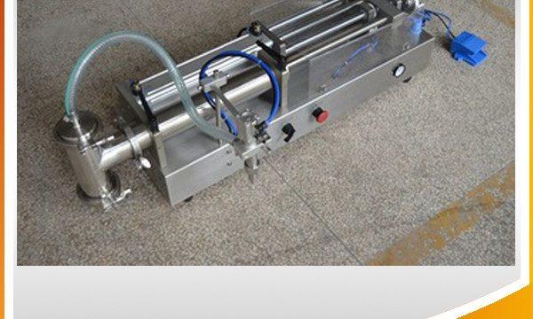Semi-automatische zuiger vulmachine Ideale olie vulmachine