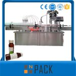 Automatische Roterende Flessen Vloeibare Vulmachine Met Capping