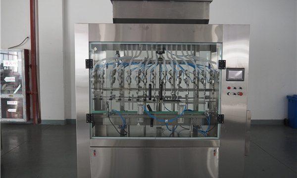 Automatische 12 hoofden atmosferische druk vloeistof vulmachine