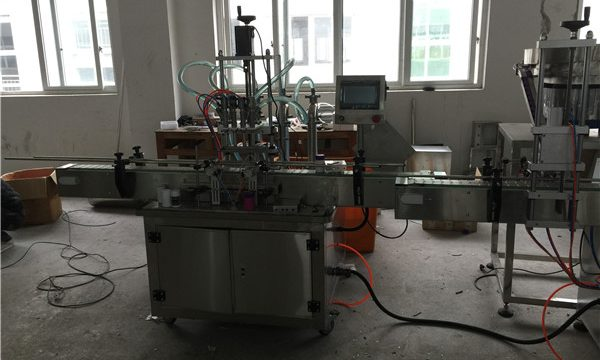 Automatische zuiger vulmachine 50ml tot 1L