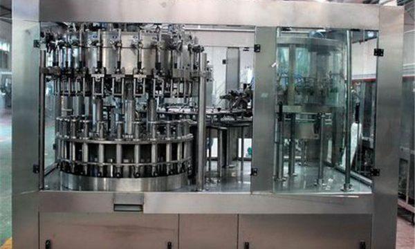 Automatische roestvrijstalen vloeistof vulmachine voor olie / gezuiverd water