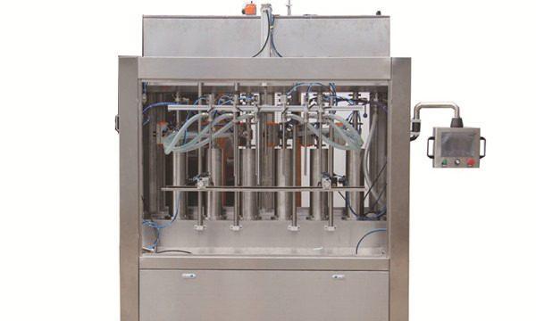 Afwasmiddel vulmachine