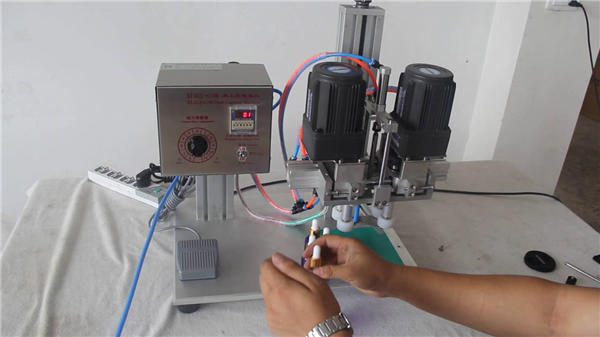 Volautomatische pneumatische capping machinefabrikant