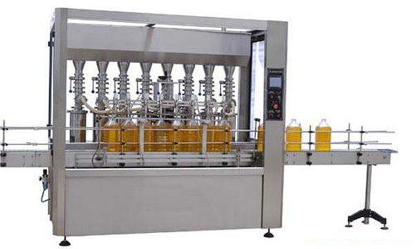 Hoge precisie automatische smeerolie / eetbare olie vulmachine 2000ml-5000ml