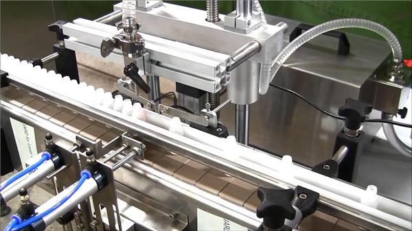 Hoge snelheid automatische e-liquid flessenvulmachine