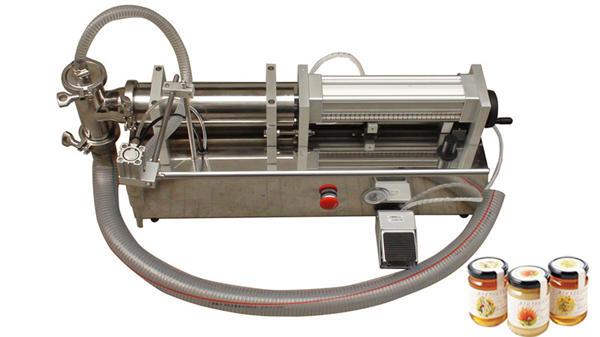 Semi-automatische vloeibare vulmachine met hoge viscositeit