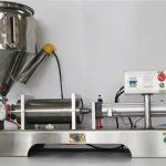 Hoognauwkeurige halfautomatische gemengde fruitjam-vulmachine met CE GMP