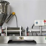 Pure pneumatische halfautomatische fruitjam-vulmachine