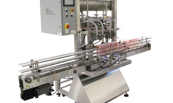 Automatische flessenzuiger vulmachine