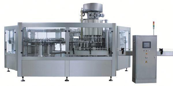 Pneumatische bleekvloeistof vulmachine