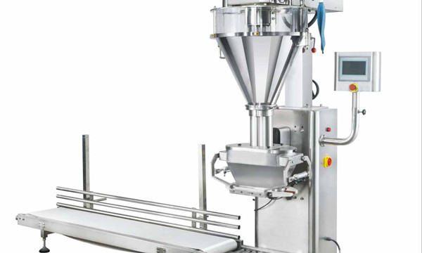 Semi-automatische Mmilk poeder vulmachine