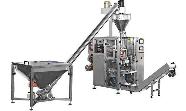 Automatische Flessen Type Spiraalvoeding Poeder Vulmachine