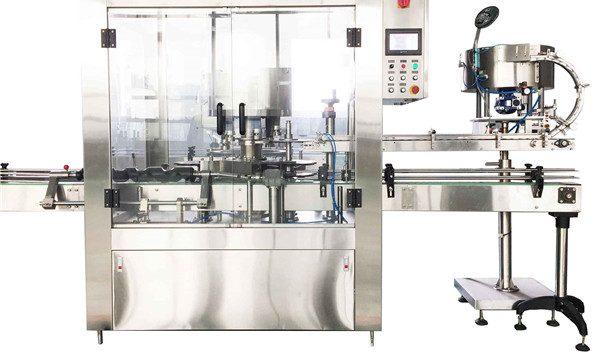 Roterende aftoppingmachine met ronde vloeistof