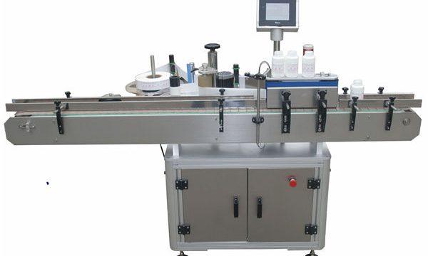 Automatische dubbelzijdige etiketteermachine voor plastic glazen glazen fles