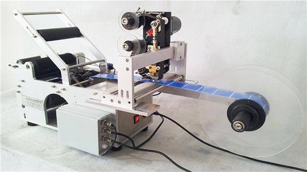Kleine ronde etiketlabelmachine