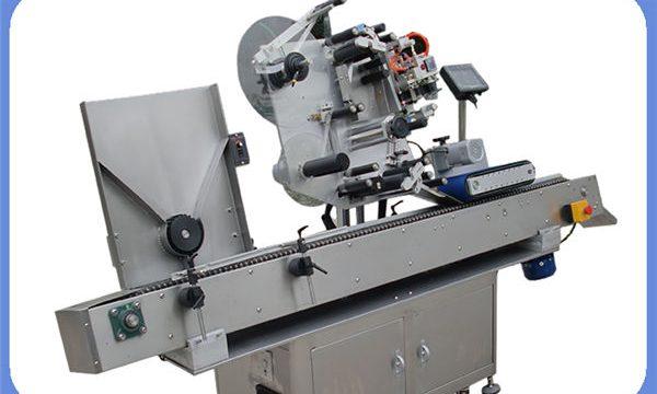 Automatische etiketteermachine voor flessenstickers voor rond en vierkant