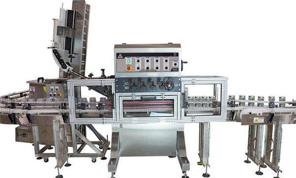 Pneumatische pomp automatische hete saus vulmachine