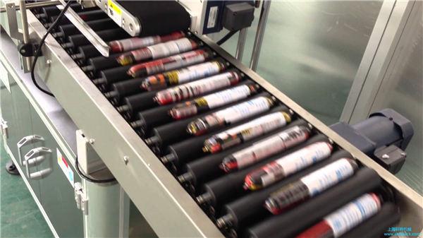 Automatische Worst Etiketteermachine Met Feeder