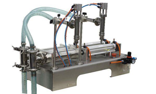 Semi-automatische zakjes vulmachine voor vloeibare zeep