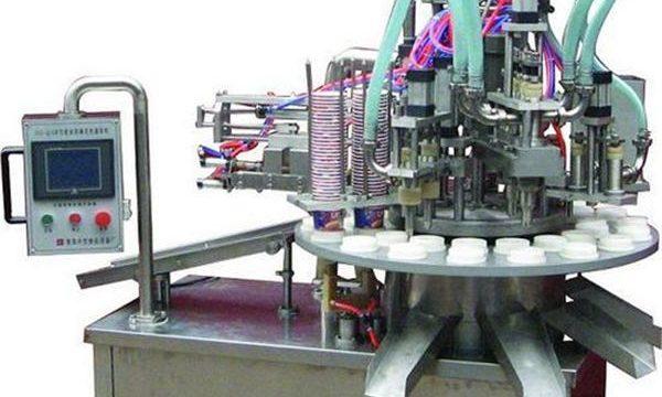 Automatische cosmetische zalf / crème vulmachine