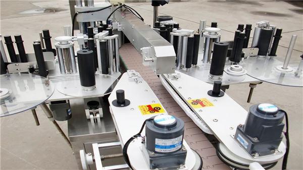 Automatische voor- en achterflessen Flessenblikken Etiketteermachine Fabrikant