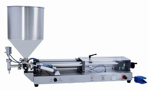 Semi-automatische pasta vulmachine voor 3 ml-5 liter