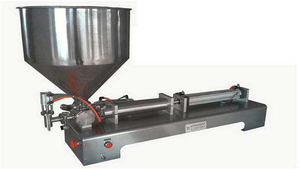 Enkele kop semi-automatische verticale vulmachine