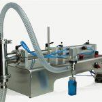 Hoogwaardige semi-automatische piston vulmachine Nieuw ontwerp