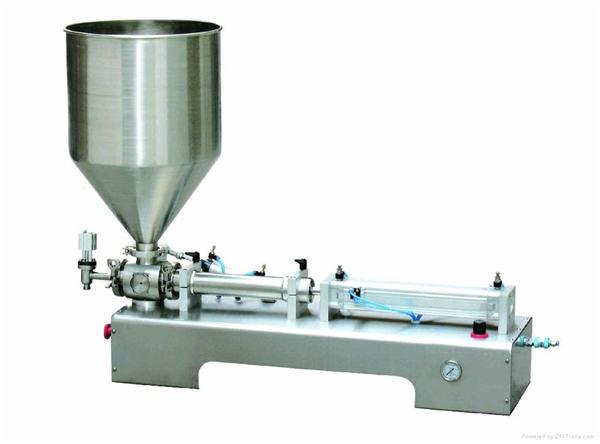 Pneumatic Piston Filling machine ,Thick Cream Piston Filling Machine