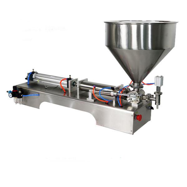 Semi-automatische piston dikke saus vulmachine