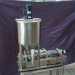 2 hoofden Semi-automatische vloeistof vulmachine